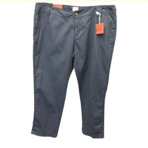 Mossimo Supply Co Blue Crop Pants Size 17 NWT